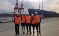 Denizci Öğrenciler Derneği Borusan Limanı'nı Gezdi